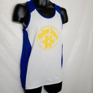Yellow Snow Basketball Athletic Top
